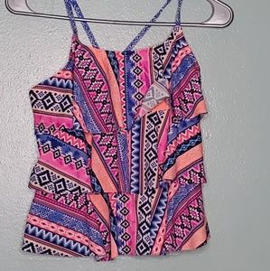 Other - 2 PC tribal print bathing suit
